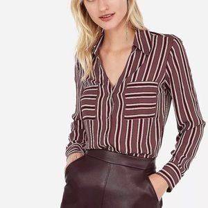 Express Portofino Slim Blouse - Small - NWOT